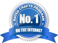 Rated #1 Crafted Program Award by ClickBank